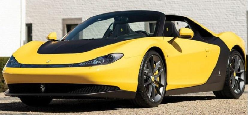 Most Expensive Cars - Ferrari Pininfarina Sergio