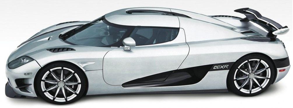 Most Expensive Cars - Koenigsegg CCXR Trevita