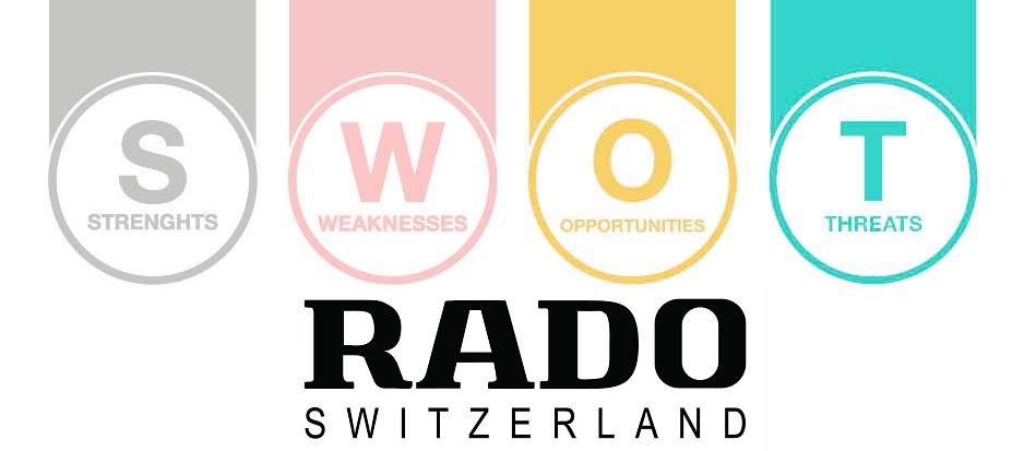 swot analysis of rado - 1