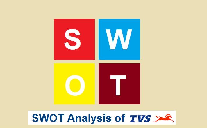 swot analysis of tvs