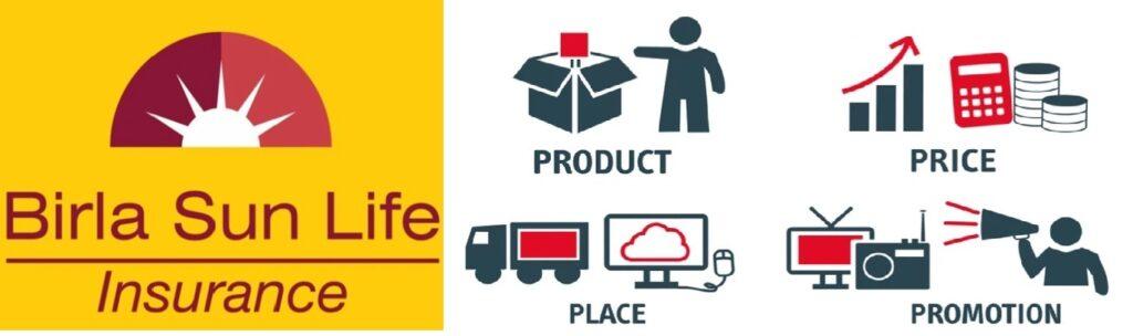 marketing Mix of Birla Sun Life Insurance -1