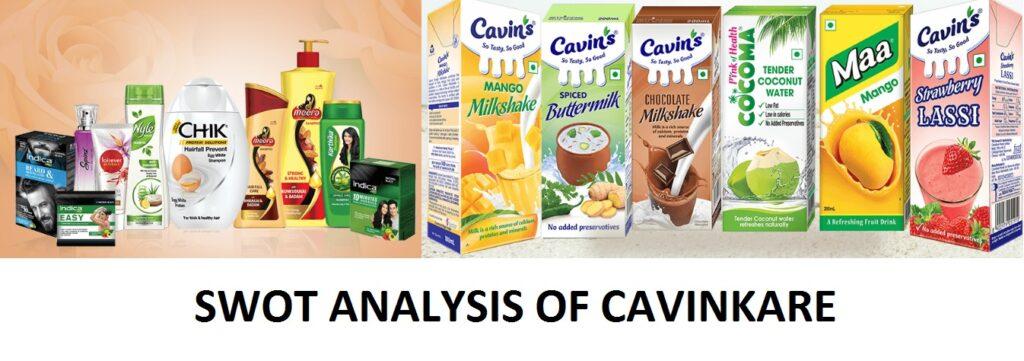 swot analysis of cavinkare