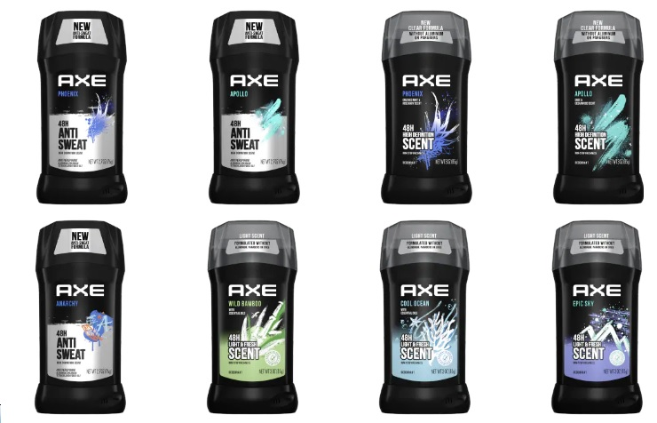 swot analysis of axe deodorants