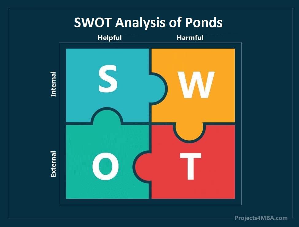 swot analysis of ponds - 0
